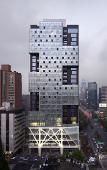 Missing Matrix Building, photo: Yong-Kwan Kim