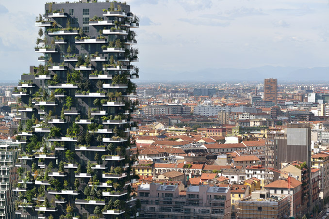 Bosco Verticale, photo: Paolo Rosselli